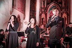 Benefiční koncert v Morašicích.