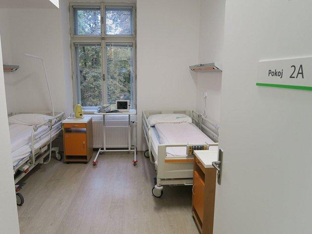 Nový operační sál Vysokomýtské nemocnice a jeho zázemí.