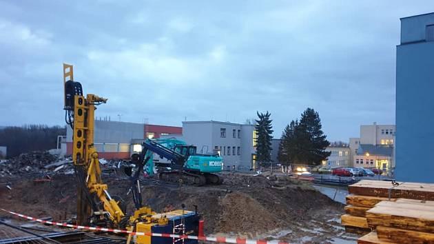Stavba nového urgentu v Orlickoústecké nemocnici
