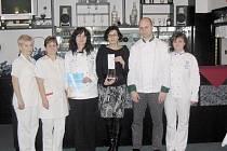 Střední škola obchodu, řemesel a služeb v Žamberku získala bronzovou medaili M. D. Rettigové.