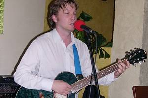 David Chládek, frontman kapely Tichá Woda