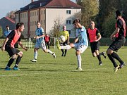 Krajský přebor ve fotbale: Česká Třebová - Slatiňany.