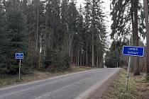 Hranice okresu Svitavy a Ústí nad Orlicí