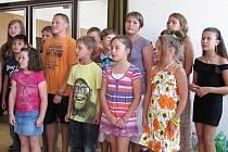 Děti z černobylské oblasti se rekreovaly v Pastvinách.