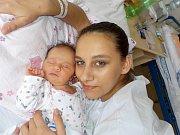 Naďa Richterová se narodila s váhou 3380 g dne 10. 11. v 22.25 hodin. V Letohradě bude těšit rodiče Julii Richterovou a Milana Kočího.