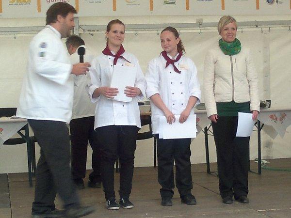 Studentky zChocně uspěly na Gastronomických slavnostech