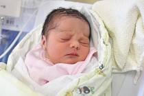 Natálie Kudlačíková je po Jakubovi druhým dítětem Denisy a Petra ze Žamberku. 19. září ve14.17 je potěšila hmotností 3,28 kg.