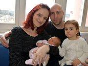 Nikola Tancibudková je dalším dítětem Jany a Přemysla ze Žamberku. Na svět přišla 1. 4. v 1.50  s váhou 3,110 kg. Sestřička se jmenuje Vendulka.