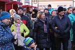 První adventní neděli 1. prosince byl na Mírovém náměstí v Ústí nad Orlicí zahájen tradiční Ústecký advent.