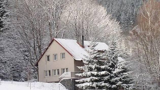 Chata v Dolní Moravě.