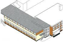 V Dolním Újezdu postaví novou mateřskou školu na střeše základní školy.