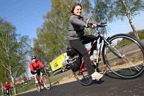 """Již 23. ročník tradičního cykloturistického výletu """"Na Drozdovskou pilu"""" se konal v sobotu 23. dubna."""
