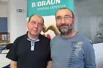 Václav Felgr (vlevo) a Zdeněk Polák.