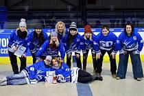 Letohradské hokejbalistky skončily v Mostě páté.
