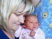 Ema Jeřábková je prvorozená holčička Andrey Zemanové a Pavla Jeřábka z Českých Heřmanic. S váhou 3130 g se narodila dne 19. 5. v 0.34 hodin.