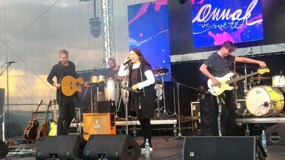 Anna K. na JamRocku v Žamberku.