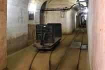 Podzemí tvrze Bouda.