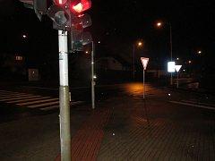 Na světelné křižovatce protínající ulici Královéhradeckou, Q. Kociana a Cihlářskou se ve čtvrtek 30. listopadu krátce po deváté hodině večerní střetlo hasičské nákladní vozidlo s osobním vozidlem značky Škoda Octavia Combi.