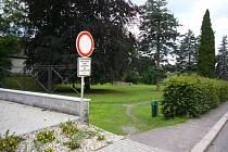 Zámecké zahrady. Ilustrační foto.
