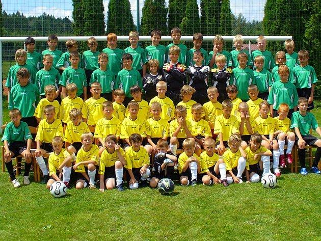 Fotbalové školy se zúčastnili mladí hráči nejen z ústeckoorlického regionu.