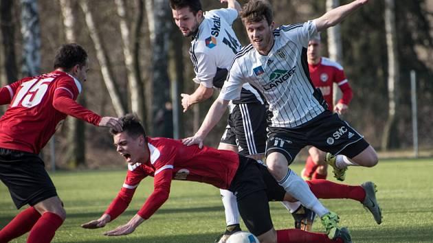 Česká fotbalová liga: TJ Jiskra Ústí nad Orlicí - MFK Chrudim.