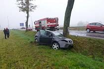 Havárie v Dolní Lipce.