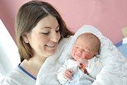 Tomáš Svoboda bude doma s rodiči Denisou a Tomášem a bráškou Ondřejem v Letohradě. Chlapeček přišel na svět s váhou 4,310 kg 21. listopadu v 21.18 hodin.