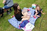 Park Peliny v Chocni na začátku června ovládl JachtaFest. Konal se v pátek a v sobotu, vystoupilo mnoho osobností . Foto: Bohumil Bečička