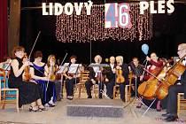 Lidový ples v České Třebové.