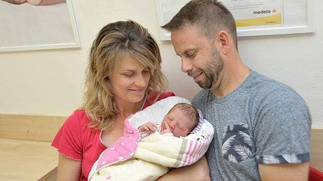 Viktorie Chudá je po Vladimírovi druhým dítětem Kláry a Vladimíra z Ústí nad Orlicí. Holčička se s váhou 2,77 kg narodila 23. 5. v 23.07 hodin.