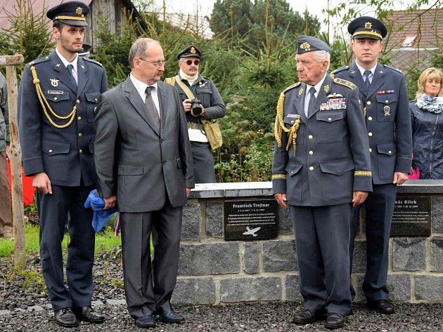Vzpomínková akce na Františka Trejtnara, odhalení jeho pamětní desky