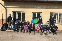 Dobrovolní hasiči z Žichlínku o víkendu uklízeli obec.