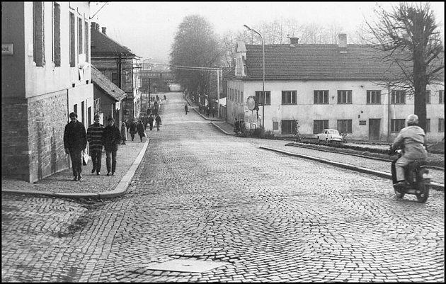 Ústí nad Orlicí, uBubeníka, kolem roku 1975.