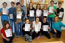 Bobříky informatiky lovili i studenti Gymnázia v Ústí nad Orlicí.