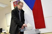 Martin Netolický volí nového prezidenta.