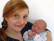 Jan Bělohlávek je po Vojtíškovi a Toníčkovi třetí chlapeček Veroniky a Jiřího z Vysokého Mýta. S váhou 4050 g se narodil dne 1. 3. v 3.27 hodin.