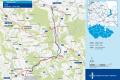 Uvažované trasy dvouproudé přeložky I/43 z Lanškrouna do Dolní Lipky