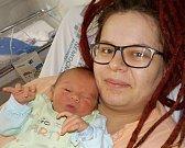 Radim Orzel je prvorozený syn Jany a Radima z České Třebové. S váhou 3190 g přišel na svět dne 1. 12. v 17.53 hodin.