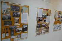 Výstava Československé legie a První republika v knihovně v Ústí nad Orlicí.