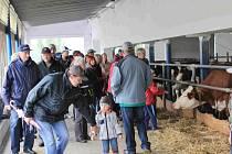 Den otevřených dveří v Zemědělsko obchodním družstvu Zálší.
