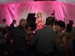 Páteční koncert festivalu Harriet Parish: Kateřina Steinerová ve Vonwillerově továrně v Žamberku.