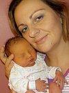 Kristýna Špilková je po Šimonkovi další přírůstek do rodiny Jany a Roberta z Vysokého Mýta Domoradic. Narodila se 4. 11. v 5.08 hodin a vážila 2780 g.