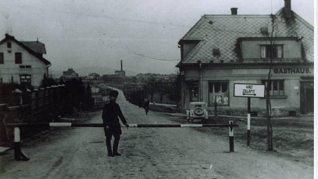 Na hranici mezi Třetí říší a Protektorátem Böhmen und Mähren v Rybníce u České Třebové byl 15. března 1939 klid.