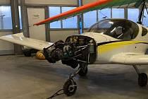 Pilot i bez vrtule bezpečně přistál na letišti v Žamberku