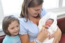 Jan Duffek je po Elince druhým dítětem Soni Unzeitigové a Jana Duffka z Ústí nad Orlicí. Narodil se jim 20. července v 17.38 s hmotností 3,34 kg.