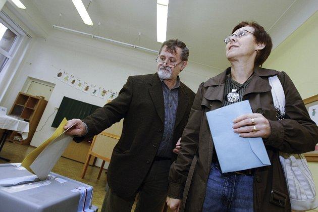 Volby v Chocni.