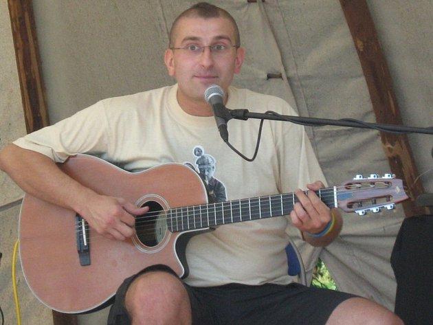 David Kaplan, organizátor celé akce.