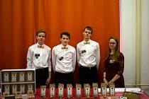 Velký úspěch se svými výrobky zažívá studentská firma Paletea.