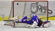 Finále play off krajské hokejové ligy: HC Kohouti Česká Třebová - HC Slovan Moravská Třebová.