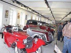 Den otevřených dveří v Muzeu starých strojů a technologií v Žamberku.